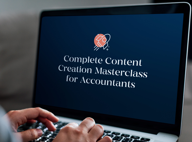 Content Marketing for Accountants Masterclass